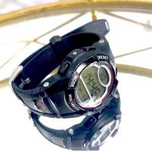 Armitron chrono alarm watch black